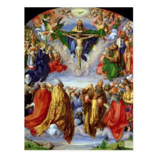 Le retable de Landauer, tout le jour de saints, Cartes Postales