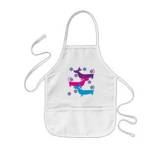 Le rétro chien de chasse de basset d amusement gén