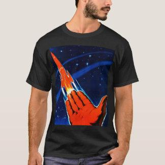 Le rétro espace vintage de Soviétique de Sci fi T-shirt