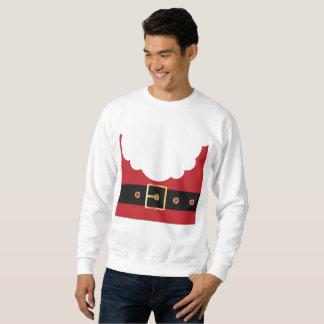 le rétro sweatshirt des hommes du père noël
