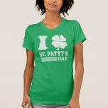 Le rétro T-shirt de St Patrick d'amour d'I