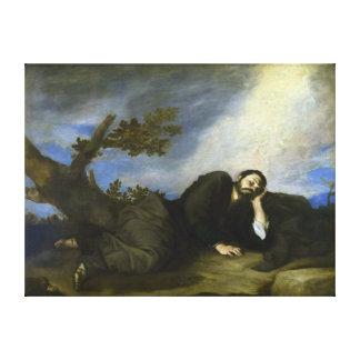 Le rêve de Jacob par José de Ribera Toiles