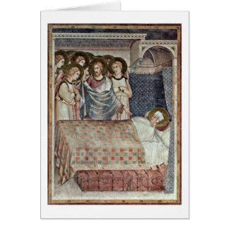 Le rêve de St Martin par Simone Martini Cartes