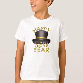 Le réveillon de la Saint Sylvestre badine le T-shirt