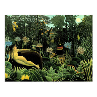 Le rêveur de Henri Rousseau (1910) Cartes Postales
