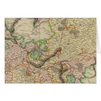 Le Rhin supérieur et inférieur Carte De Vœux
