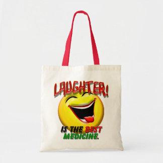 Le rire est la meilleure médecine sacs fourre-tout