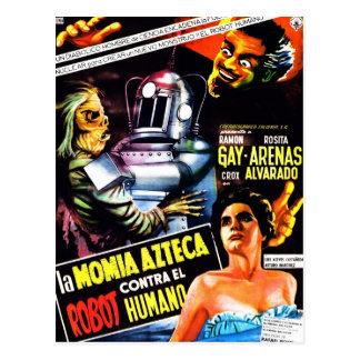 """""""Le robot contre. Carte postale de la maman"""