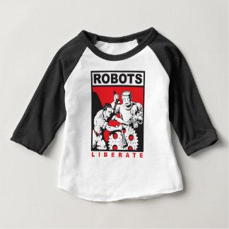 Le robot vous place libres t-shirt pour bébé