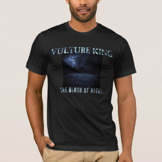 Le Roi Birth de vautour du T-shirt d'album de nuit