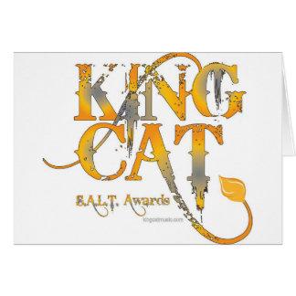 Le Roi Cat Music Logo Tees et substance Carte De Vœux