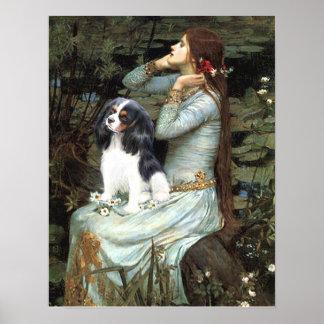 Le Roi cavalier Charles (tri couleur) - Ophélie as Posters