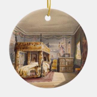Le Roi Charles Room, Chambre de Cotehele, Ornement Rond En Céramique