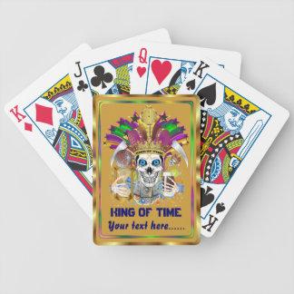 Le roi de mardi gras de la vue de temps note svp jeu de poker
