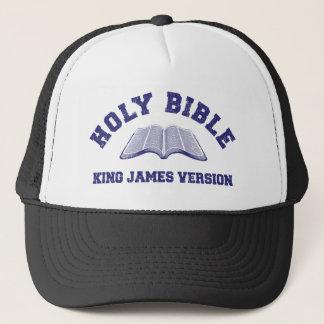 Le Roi de Sainte Bible James Version dans le bleu Casquette