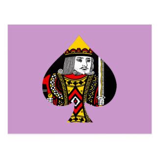 Le roi des pelles carte postale