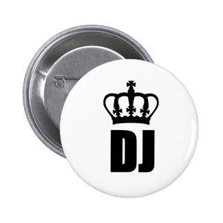 Le Roi DJ Badges Avec Agrafe