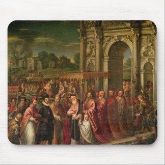Le Roi Henri III de la France visitant Venise Tapis De Souris