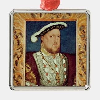 Le Roi Henry VIII Ornement Carré Argenté