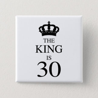 Le Roi Is 30 Badge