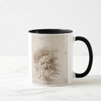 Le Roi Lear dans la tempête (encre de stylo et de Mug