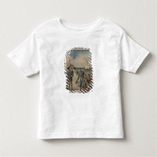 Le Roi Manuel II du Portugal offrant l'adieu T-shirt Pour Les Tous Petits