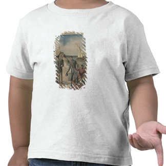Le Roi Manuel II du Portugal offrant l'adieu T-shirts