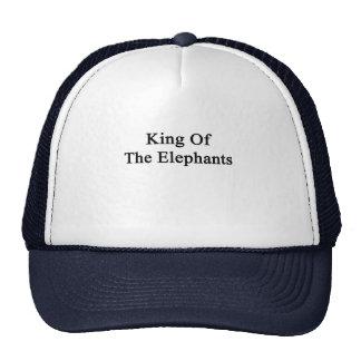 Le Roi Of The Elephants Casquette De Camionneur