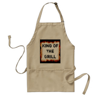 Le Roi Of The Grill Apron Tablier