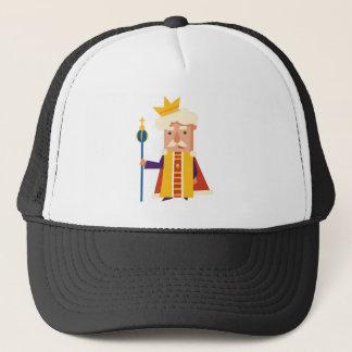 Le Roi personnage de dessin animé Casquette