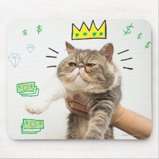 Le Roi riche Cat Tapis De Souris