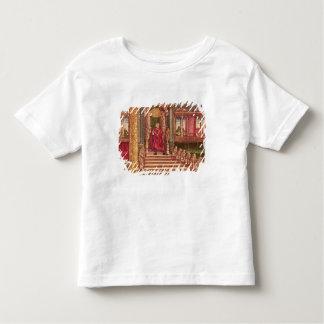 Le Roi Solomon sur son trône, ?ère édition T-shirt Pour Les Tous Petits