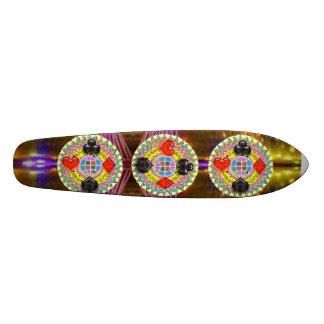 Le ROI symboles de TISONNIER : Supersonique surali Skateboards Personnalisés
