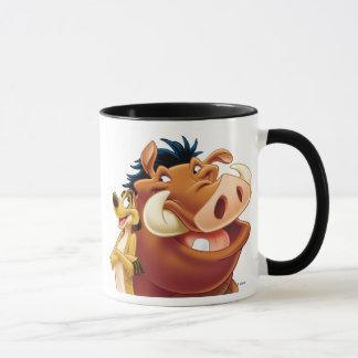 Le Roi Timon et Pumba Disney de sourire de lion Mug