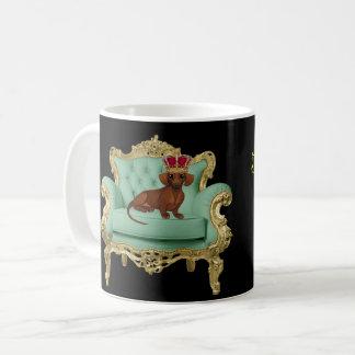 Le Roi Wiener Dog Doxie Gift de tasse de teckel