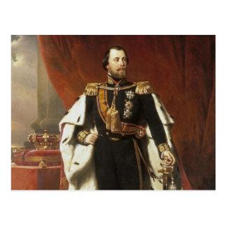 Le Roi Willem III de Pays-Bas - le Pieneman Carte Postale
