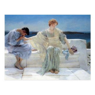 Le romantisme vintage, me demandent pas plus par carte postale
