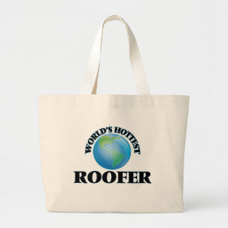 Le Roofer le plus chaud du monde Sac En Toile Jumbo