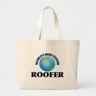 Le Roofer le plus intelligent du monde Sacs De Toile
