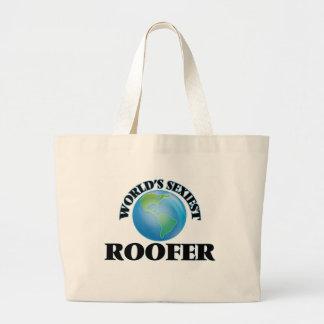 Le Roofer le plus sexy du monde Sac En Toile Jumbo