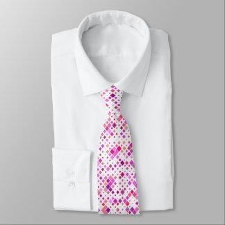 Le rose artistique bloque la cravate des hommes
