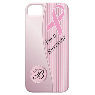 Le rose barre le monogramme du survivant | coque barely there iPhone 5