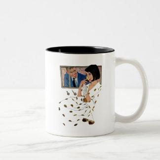 Le rose d'or mug bicolore
