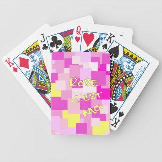 Le rose est moi jeu de poker