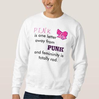 Le rose est punk sweatshirts