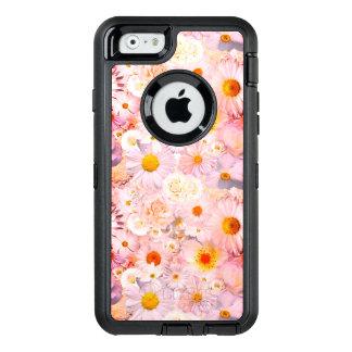 Le rose fleurit le ressort nuptiale de mariage coque OtterBox iPhone 6/6s