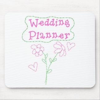Le rose fleurit le wedding planner tapis de souris