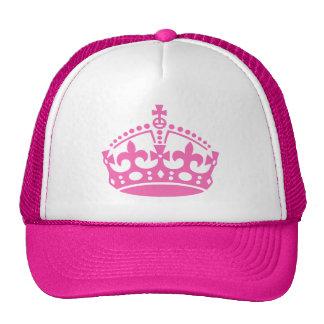 Le rose gardent le chapeau calme avec le logo de c casquettes