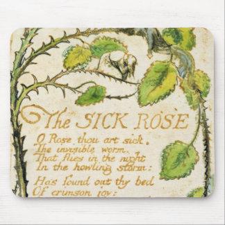 Le rose malade, des chansons de l'innocence tapis de souris