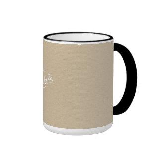 Le rouge base la boîte de Papier d'emballage de Mug